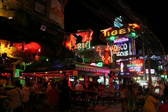 Where to party in Patong