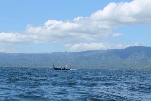 Visiting Taal Volcano and Lake in Tagaytay