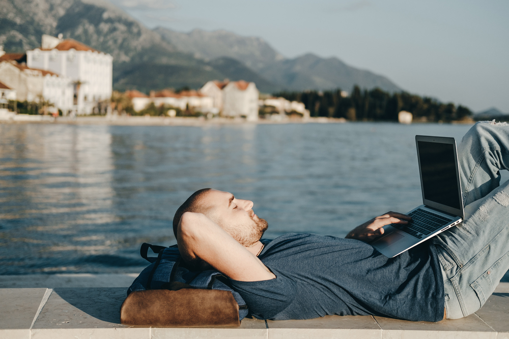 A Day in the Life of a Digital Nomad