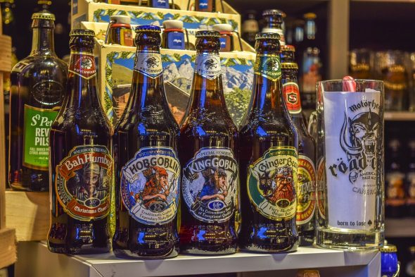 The increasing popularity of craft beers